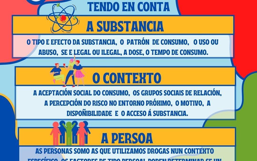 INFODROGAS: REDUCE O RISCO